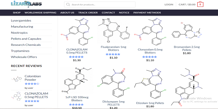 lizard labs research chemicals